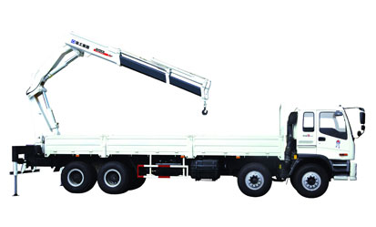 XCMG SQ10ZK3Q knuckle boom type truck mounted crane