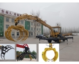 X-80 Special Timber Grabbing Hydraulic Wheel Excavator
